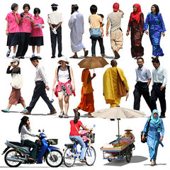 oriental people collection