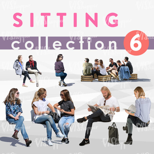 Sitting Collection 6