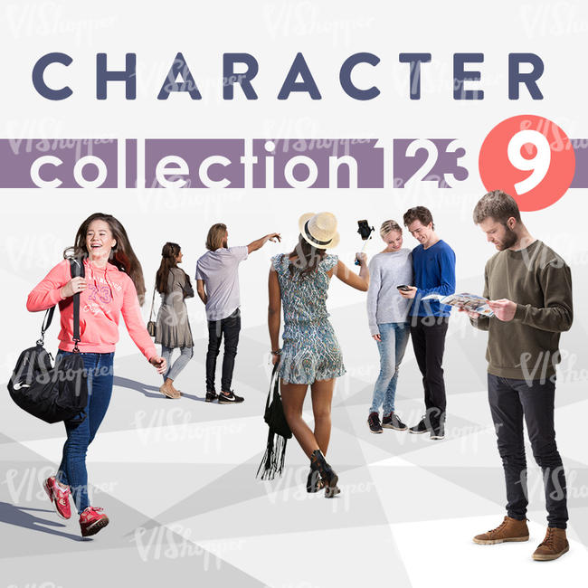 Character Collection 123-9
