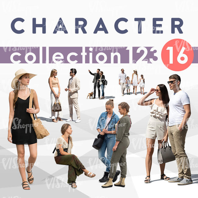Character Collection 123-16