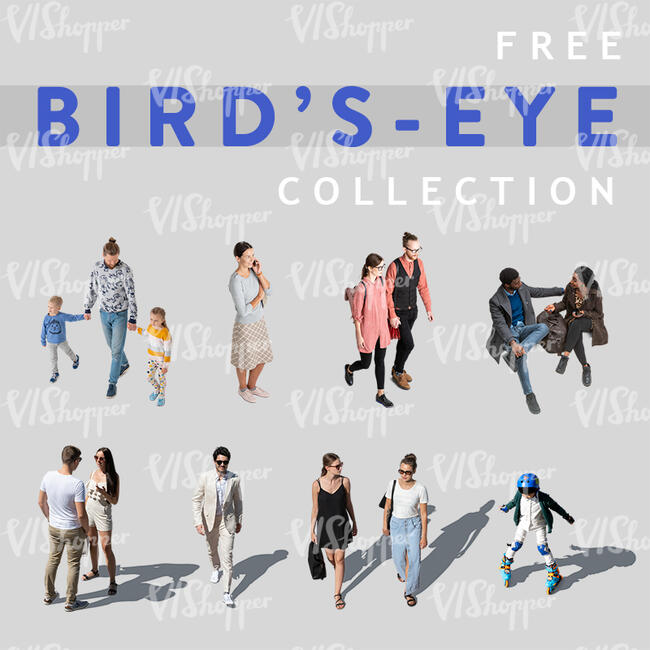 Free Birds-Eye People Collection