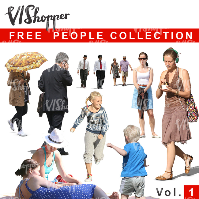 VIShopper free people vol 1