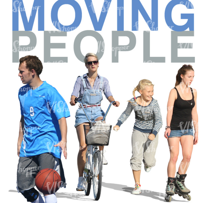 Moving People Collection