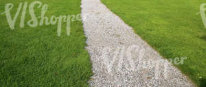 park pathway coevered with gravel