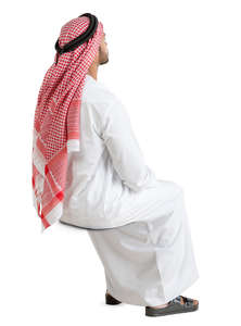 arab man sitting