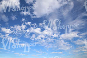blue sky texture with white clouds