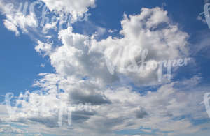 daytime sky with white clouds