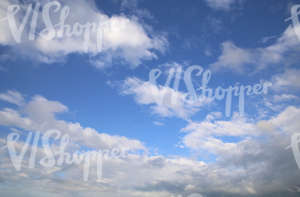 blue daytime sky with clouds