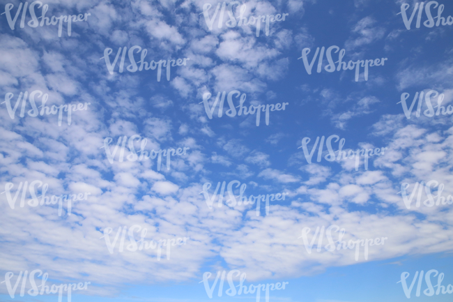 daytime sky with scattered thin clouds