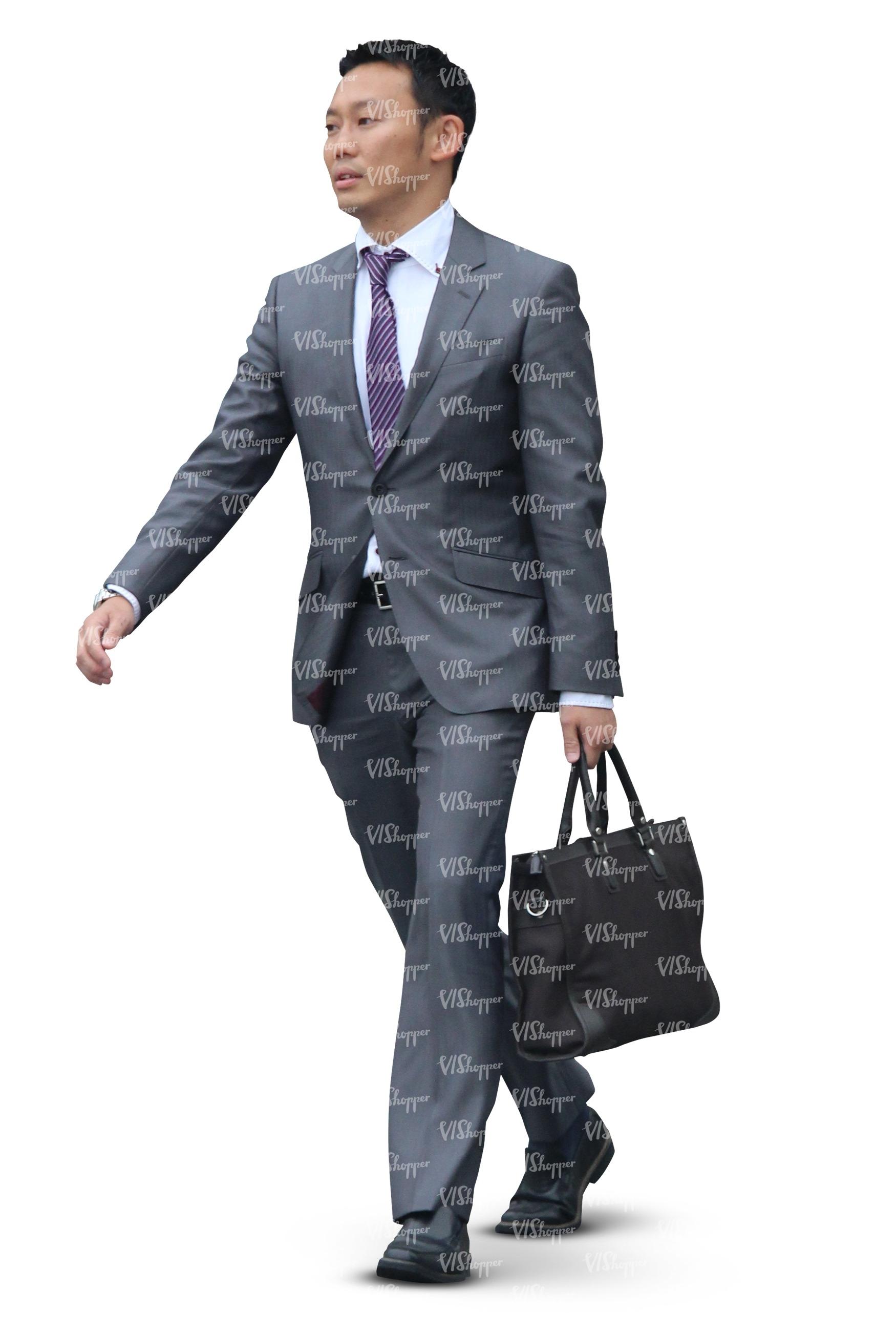 Asian Businessman Haircut