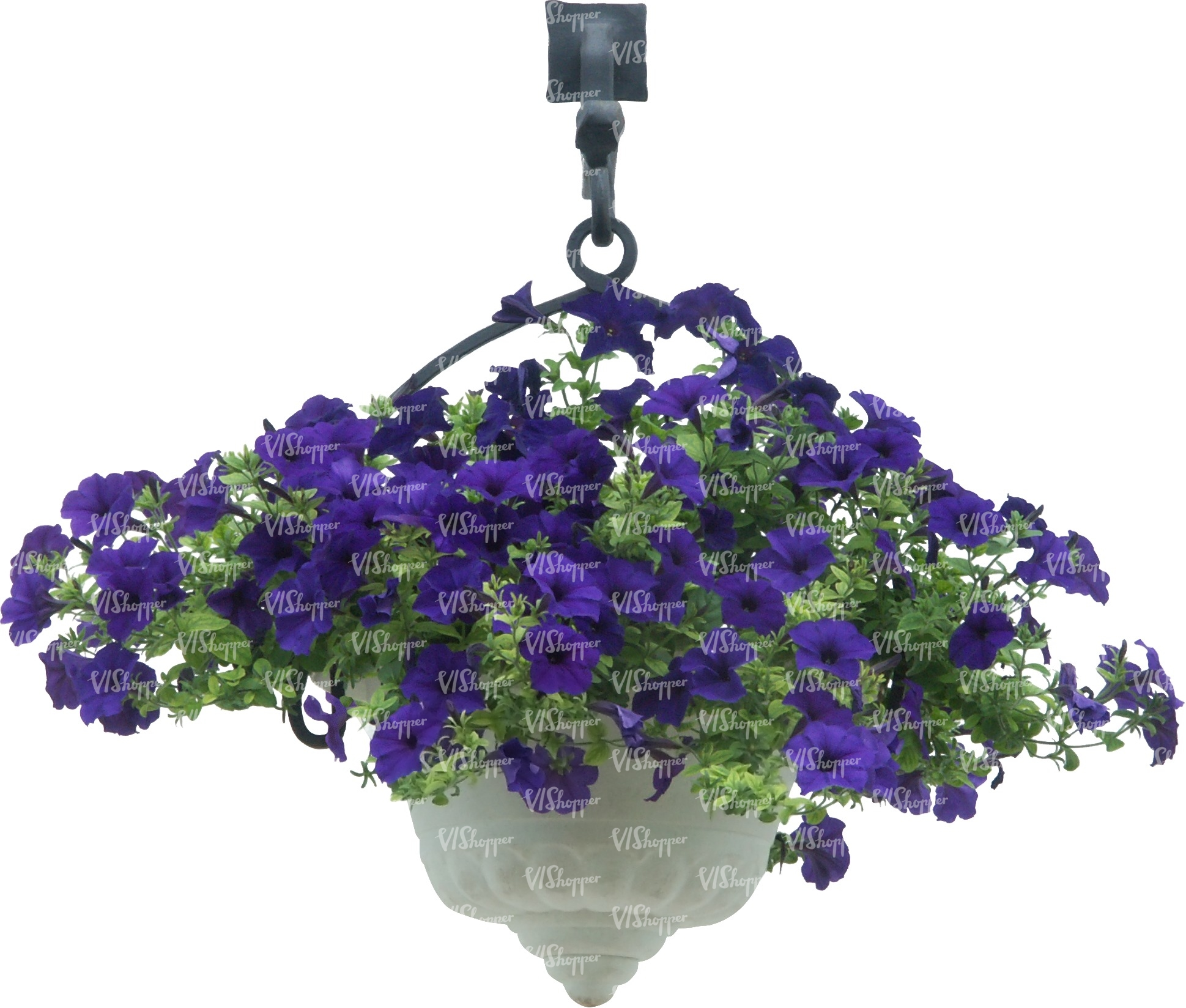 Cut out hanging basket with blue flowers cut out trees and plants cut out trees and plants izmirmasajfo